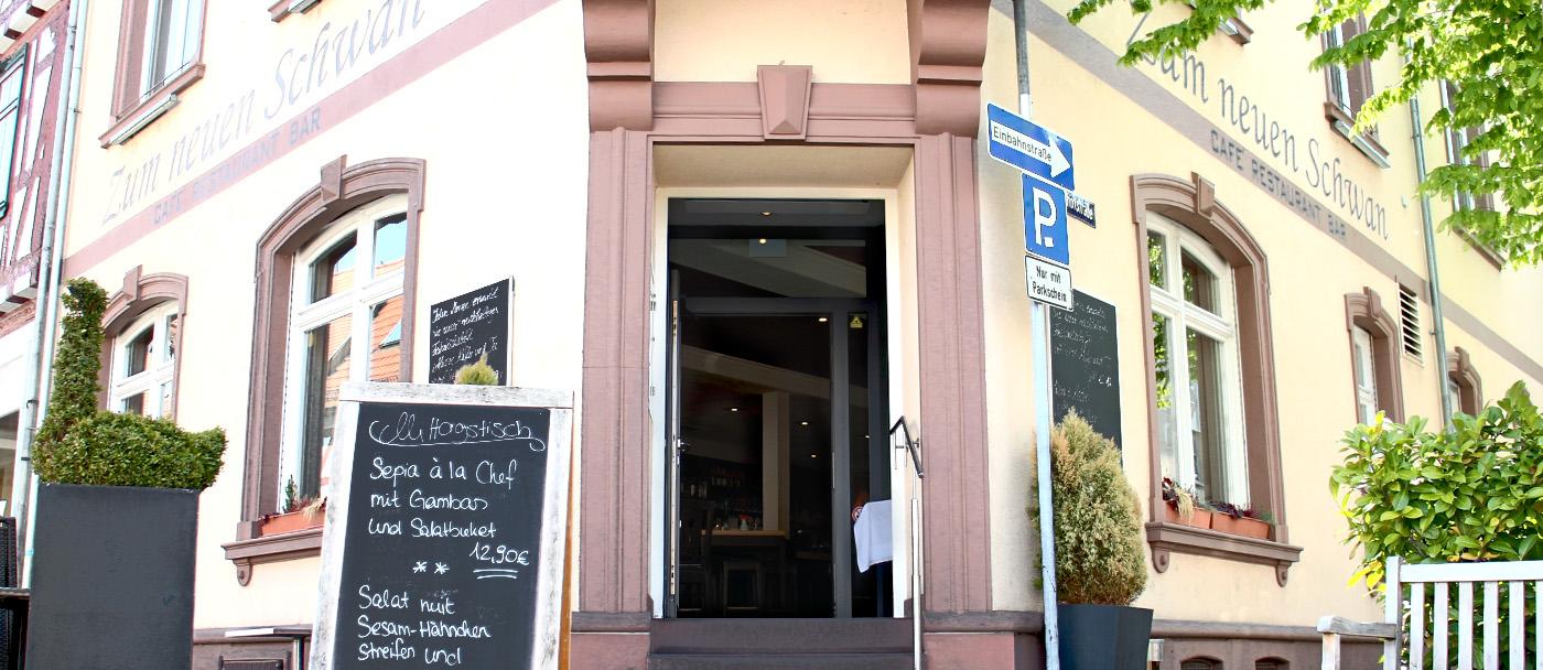 Zum Neuen Schwan Restaurant Seligenstadt Speisekarte